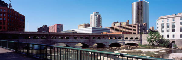 Genesee Photograph - Bridge Across The Genesee River by Panoramic Images