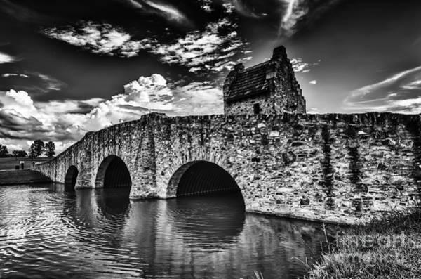 Photograph - Bridge At Alabama Shakespeare Festival by Danny Hooks