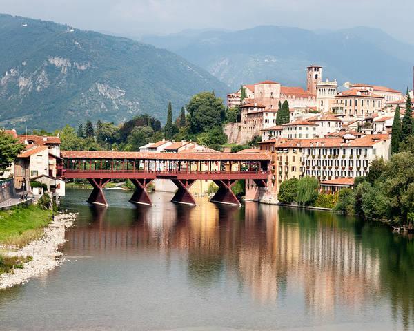 Photograph - Bridge At Bassano Del Grappa by William Beuther