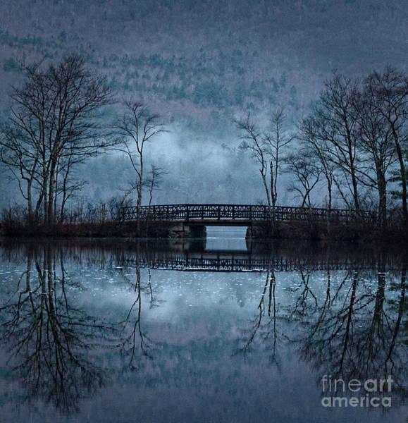 Bridge At Chocorua Art Print