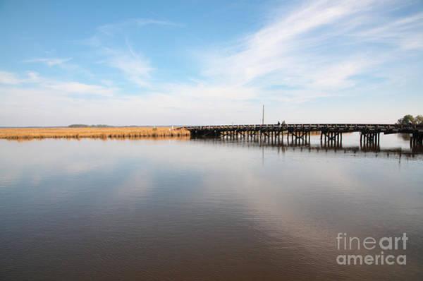 Photograph - Bridge At Shorter's Wharf At Blackwater  National Wildlife Refuge Near Cambridge Maryland  by William Kuta