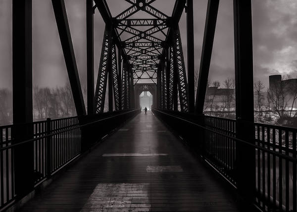 Photograph - Bridge Crossing by Bob Orsillo