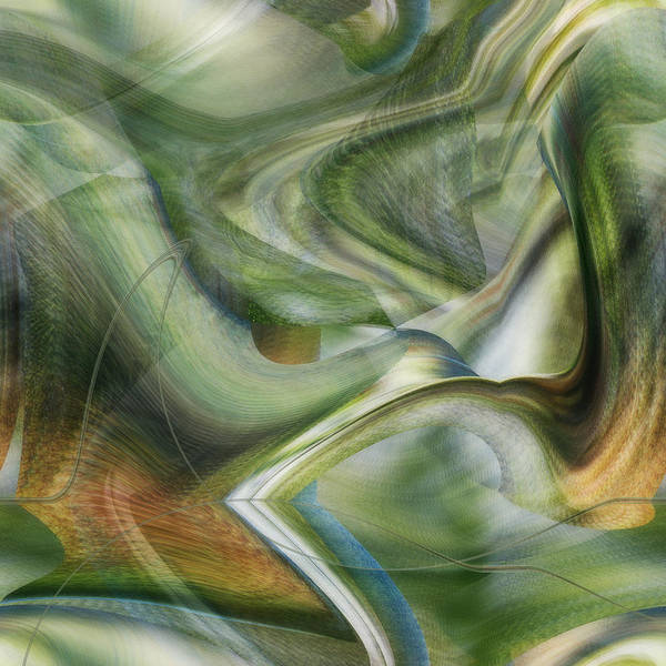 Digital Art - Bridge From The Fold by rd Erickson