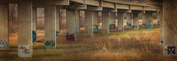 Photograph - Bridge Graffiti by Patti Deters
