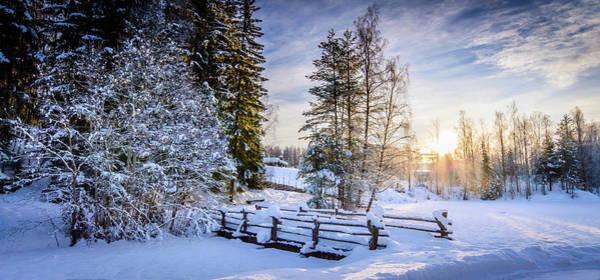 Lillehammer Photograph - Bridge In Maihaugen Open Air Museum by Espen Brustuen