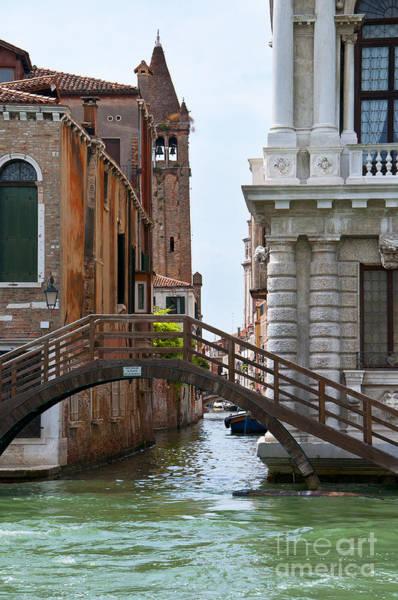 Photograph - Bridge In Venice by Brenda Kean