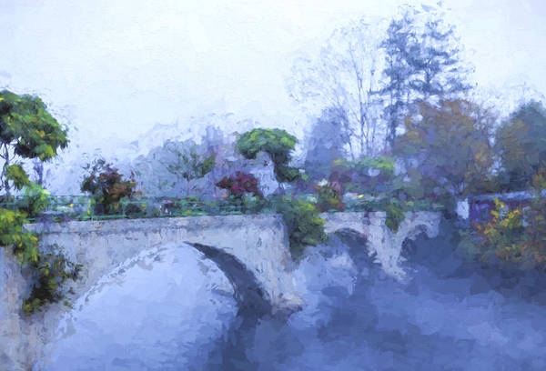 Photograph - Bridge Of Flowers II by Tom Singleton