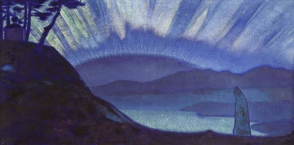 Nk Roerich Painting - Bridge Of Glory by Nicholas Roerich