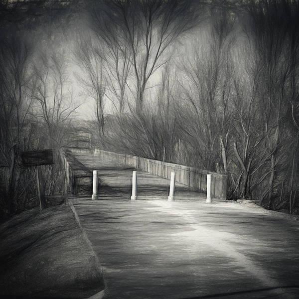 Photograph - Bridge Of No Return by Joan Carroll