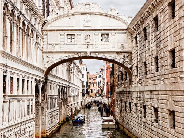 Wall Art - Photograph - Bridge Of Sighs by Susan Schmitz