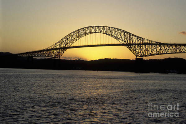 Photograph - Bridge Of The Americas Panama by James Brunker