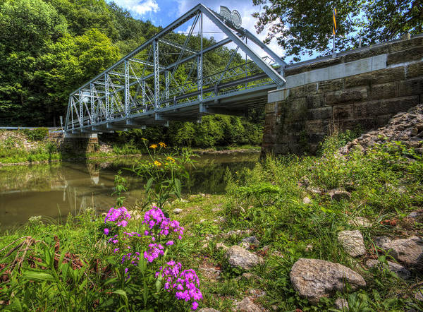 Photograph - Bridge On The Scenic River by David Dufresne