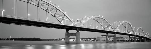 Centennial Bridge Photograph - Bridge Over A River, Centennial Bridge by Panoramic Images