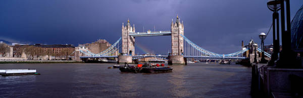 Wall Art - Photograph - Bridge Over A River, Tower Bridge by Panoramic Images