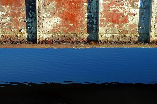 Photograph - Bridge Over Blue Water by Patricia Strand