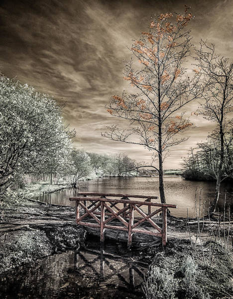 Photograph - Bridge Over Calm Waters by Steve Zimic