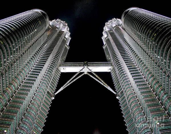 Photograph - Bridge Over Kuala Lumpur by Larry Oskin