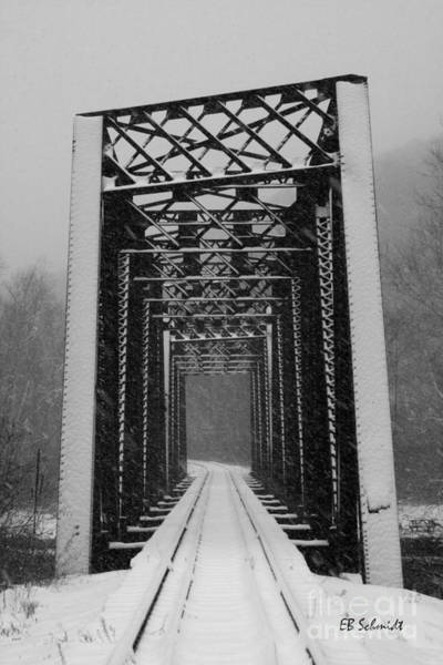 Photograph - Bridge Over Oil Creek by E B Schmidt