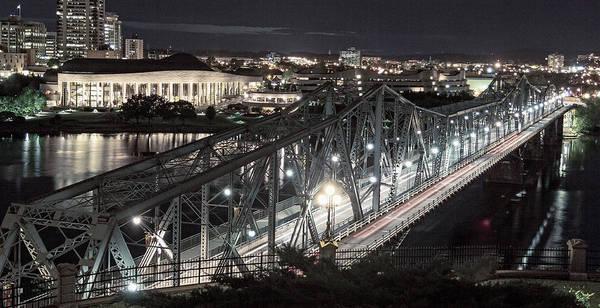 Wall Art - Photograph - Bridge Over Ottawa River by Levin Rodriguez
