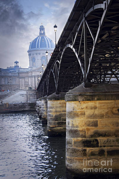Photograph - Bridge Over Seine In Paris by Elena Elisseeva