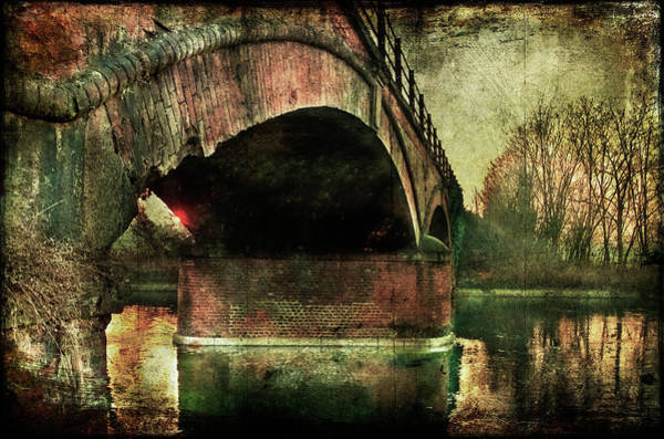 Photograph - Bridge Over The Canal by Roberto Pagani