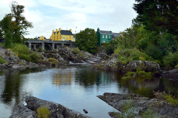 Wall Art - Photograph - Bridge Over The River Sneem. by Terence Davis