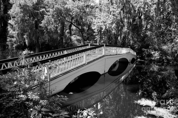 Wall Art - Photograph - Bridge Reflection - Magnolia Plantation by Christiane Schulze Art And Photography