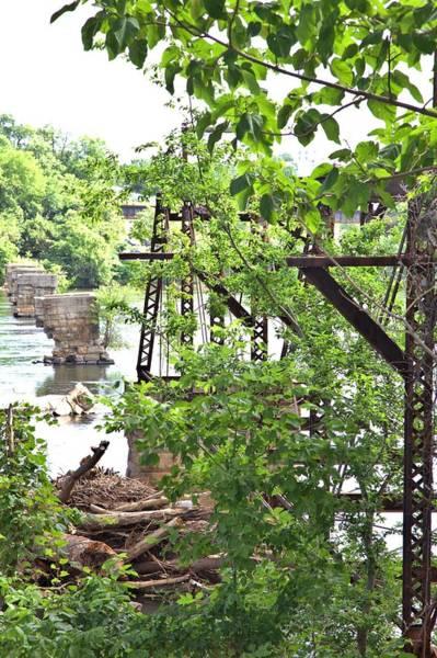 Photograph - Bridge Remnants by Gordon Elwell
