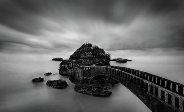 Coast Photograph - Bridge by Ritxard Perez