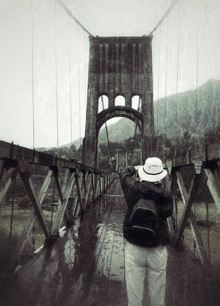 Photograph - Bridge Stop by Yen