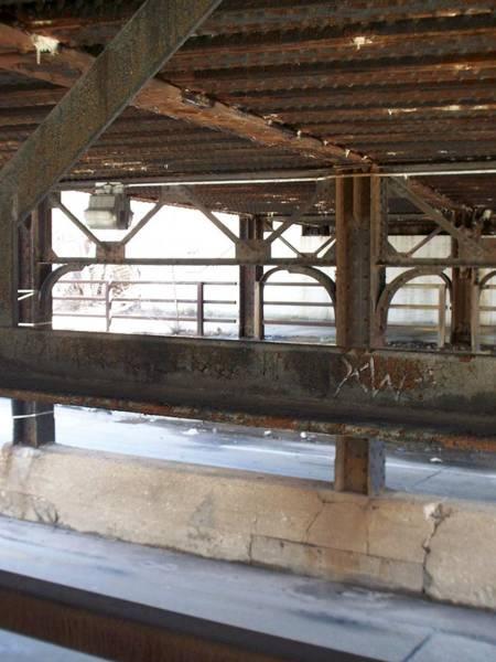 Photograph - Bridge Underpass Metal 1 by Anita Burgermeister