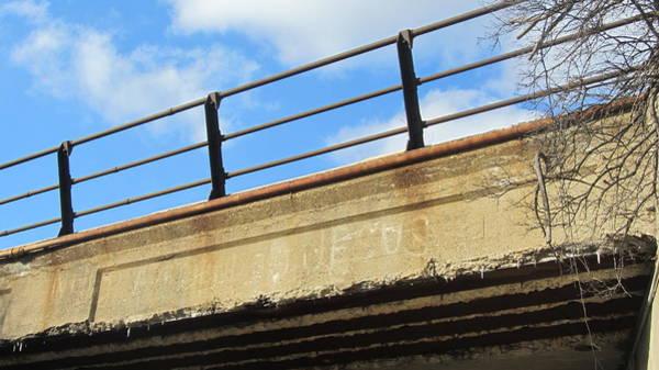 Photograph - Bridge With Jesus 2 by Anita Burgermeister