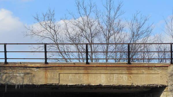 Photograph - Bridge With Jesus 4 by Anita Burgermeister