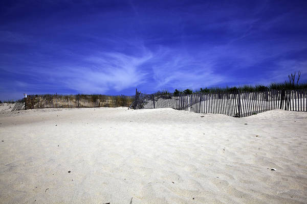 Wall Art - Photograph - Bridgehampton Beach - Fences 2 by Madeline Ellis