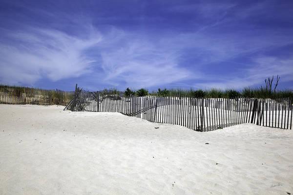 Wall Art - Photograph - Bridgehampton Beach - Fences by Madeline Ellis