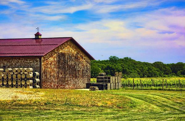 Wall Art - Photograph - Bridgehampton Winery - Long Island - New York by Madeline Ellis