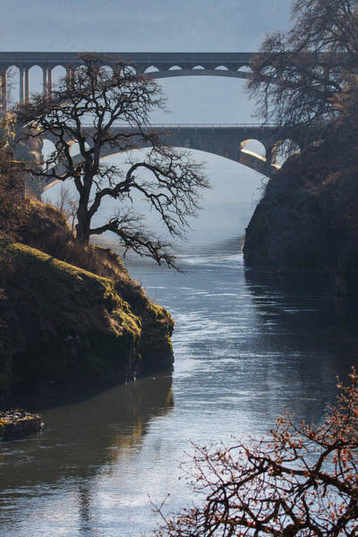 Wall Art - Photograph - Bridges Over The Klickitat by Angie Vogel