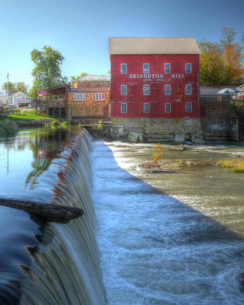 Photograph - Bridgeton Grist Mill by Harold Rau