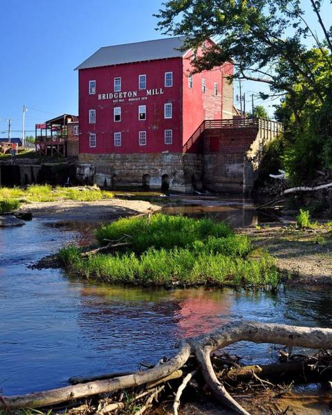 Pastel - Bridgeton Mill 2 by Marty Koch