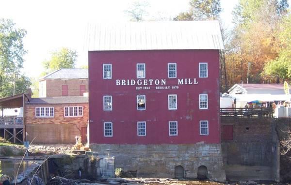 Bridgeton Mill Art Print