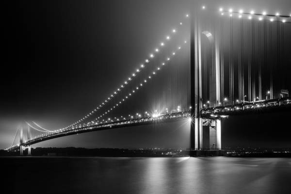 Photograph - Bridging Verrazano Narrows by Mihai Andritoiu
