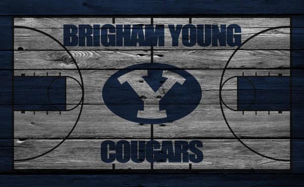 Cougar Photograph - Brigham Young Cougars by Joe Hamilton