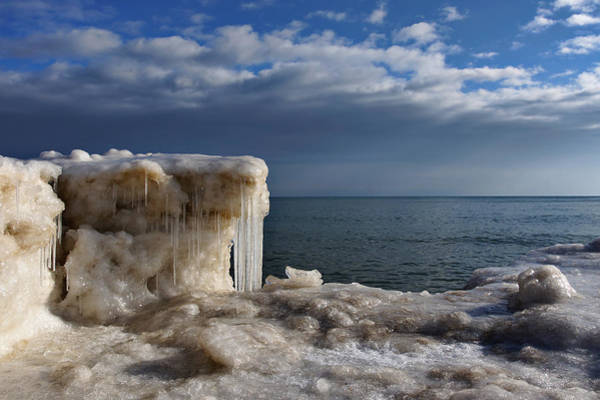 Photograph - Bright And Icy by Leda Robertson