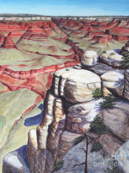 Painting - Bright Angel Trail by Art By - Ti   Tolpo Bader