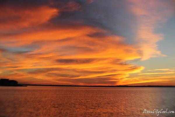 Photograph - Bright Clouds At Sunset by Robert Banach