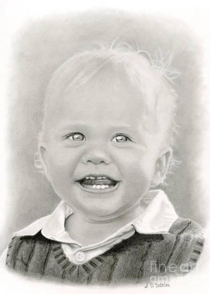 Innocence Drawing - Bright Eyes by Sarah Batalka