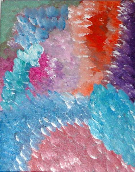 Wall Art - Painting - Bright Feathers by Valerie Howell