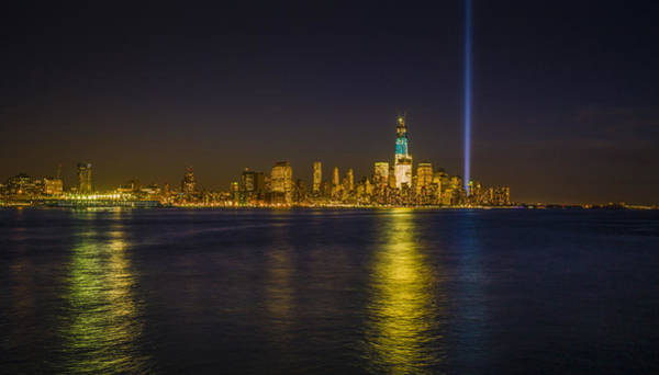 Wall Art - Photograph - Bright Freedom Tower by Chris Halford