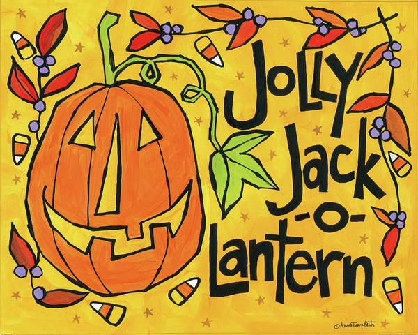 Halloween Painting - Bright Halloween Vi by Anne Tavoletti
