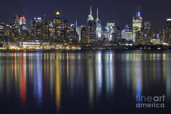 Wall Art - Photograph - Bright Lights Big City by Marco Crupi